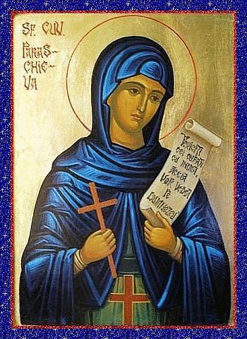 Святая мученица Параскева, именуемая Пятницей