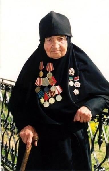 Матушка София о себе и о войне