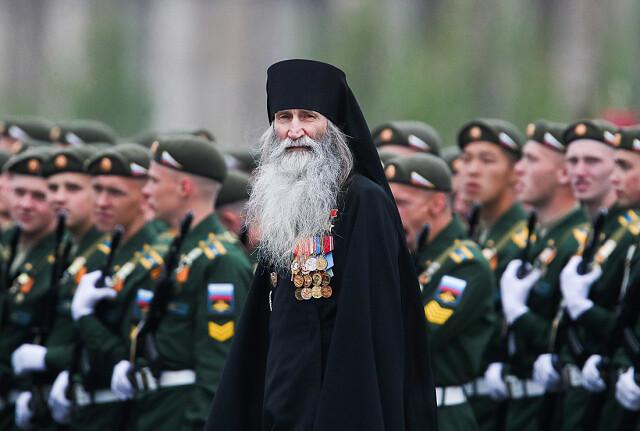 Монах Киприян, в миру полковник ВВС Валерий Бурков