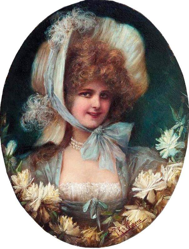Женский портрет прежней эпохи