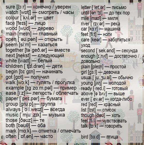 Для вашего словаря
