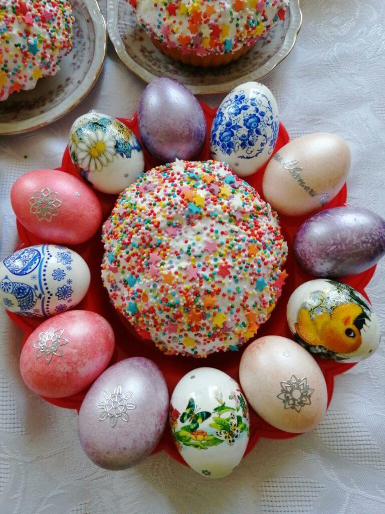Разные способы росписи пасхальных яиц
