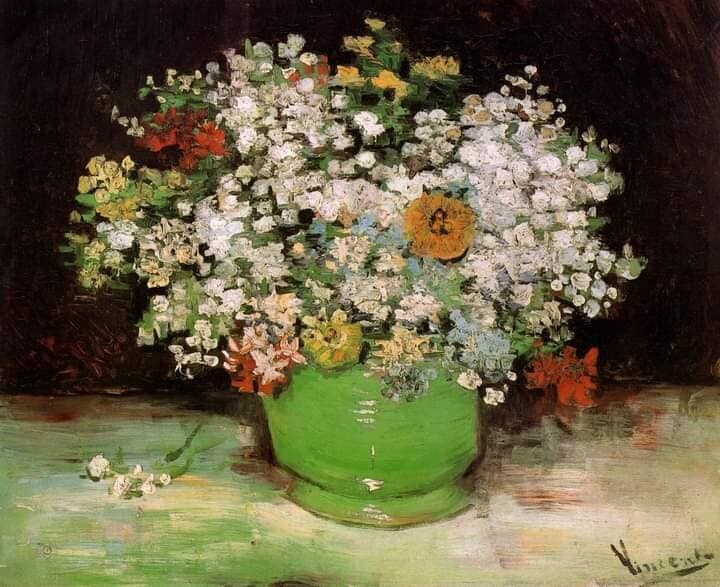 Цветы в творчестве Винсента Ван Гога