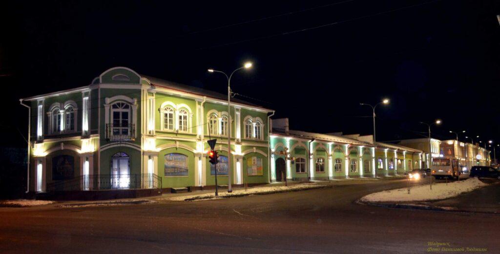 Старинный город Шадринск