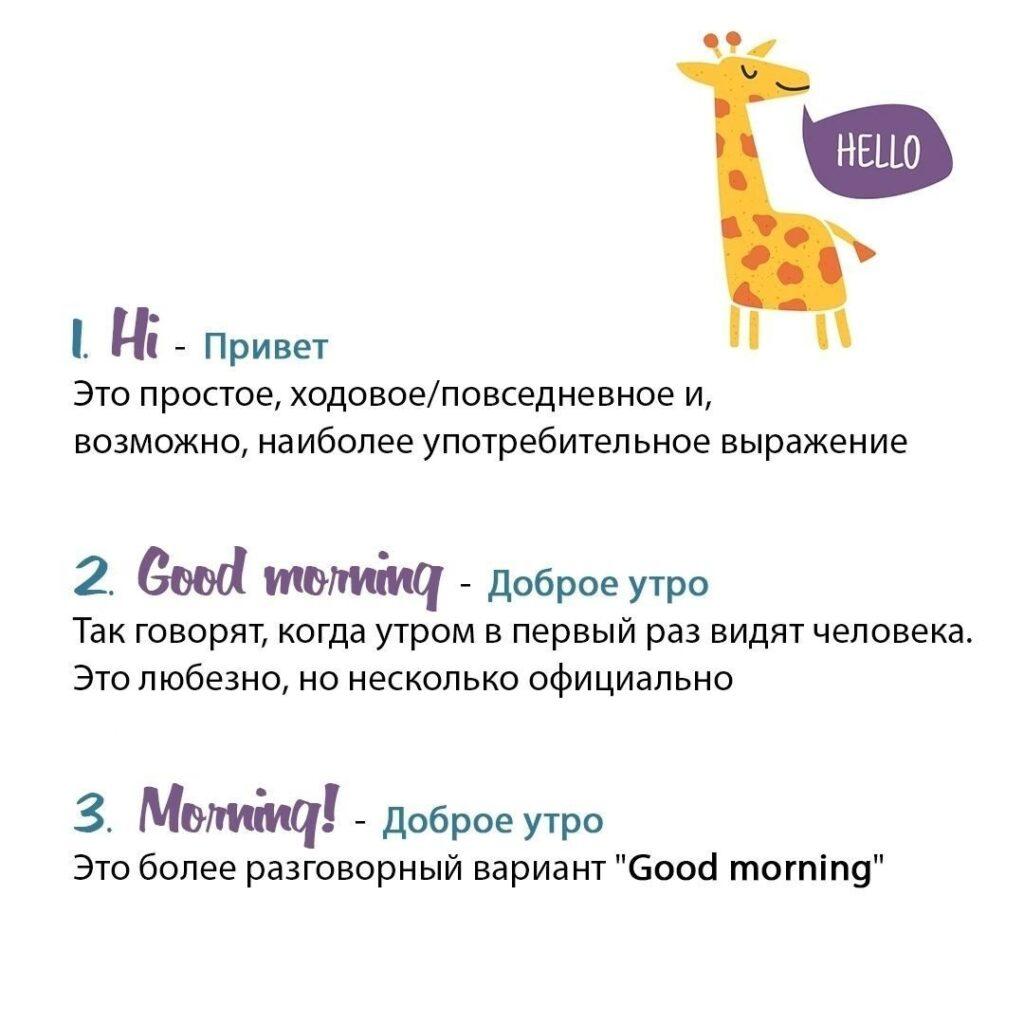 15 способов поздороваться на английском...