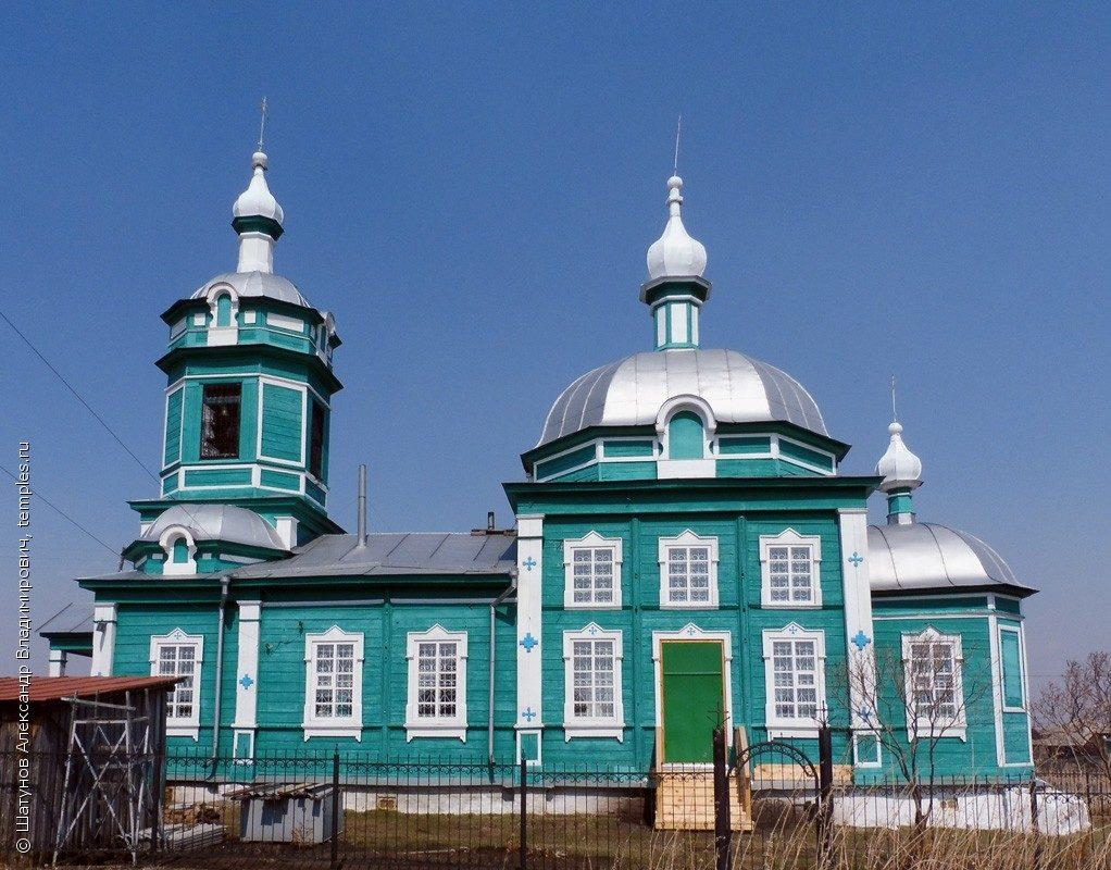 Иткульский храм. Курганская область, Каргапольский район, деревня Иткуль