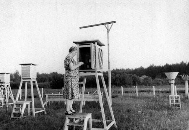 Из истории метеорологических наблюдений