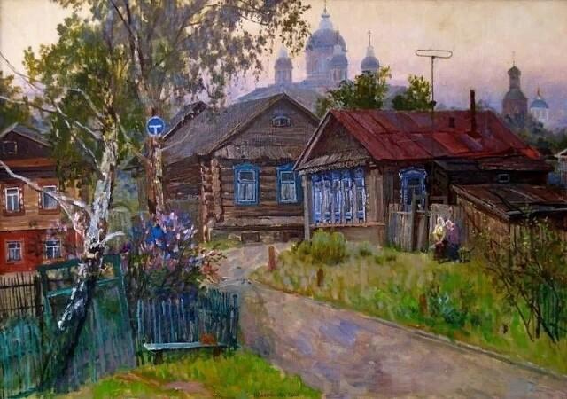 Ситцевые картины Инессы Сафроновой