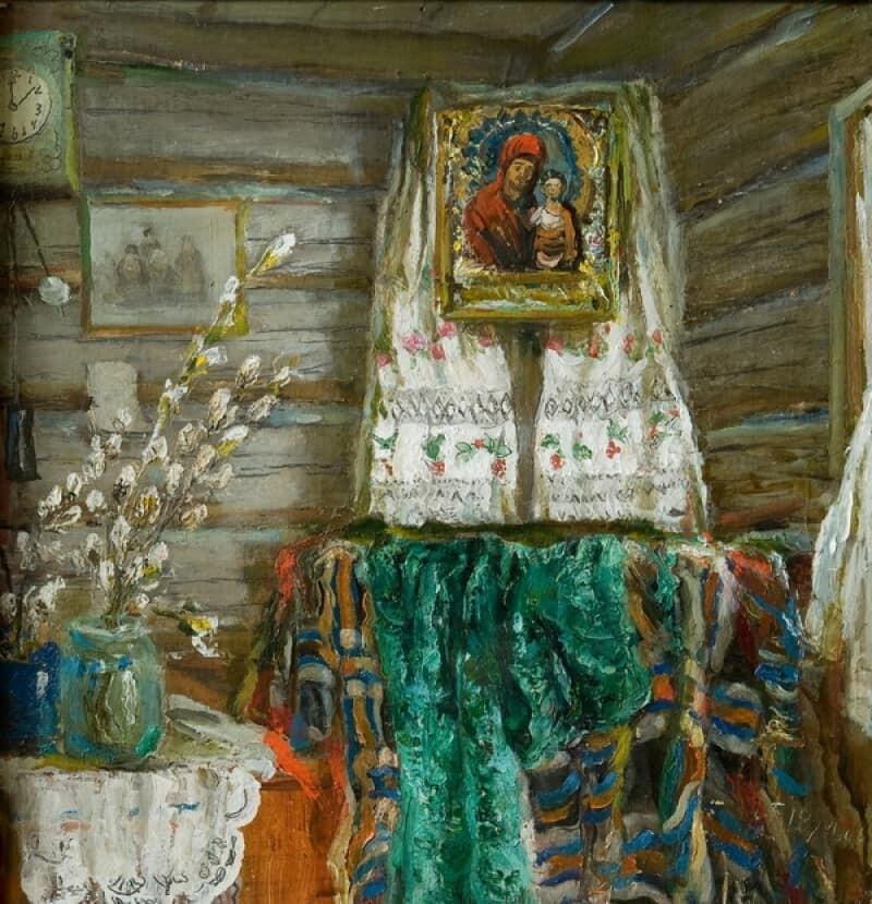 Вербное воскресенье на картинах художников