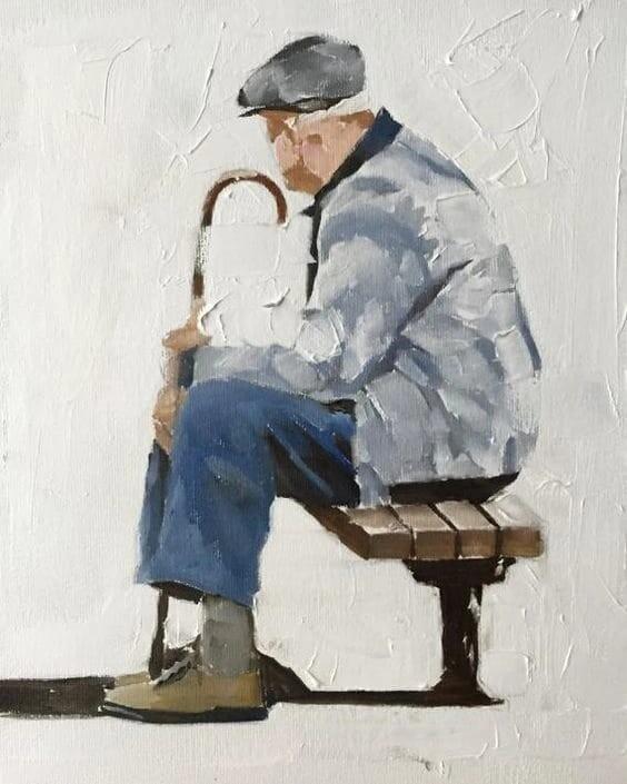 Старость. Автор Андрей Браев