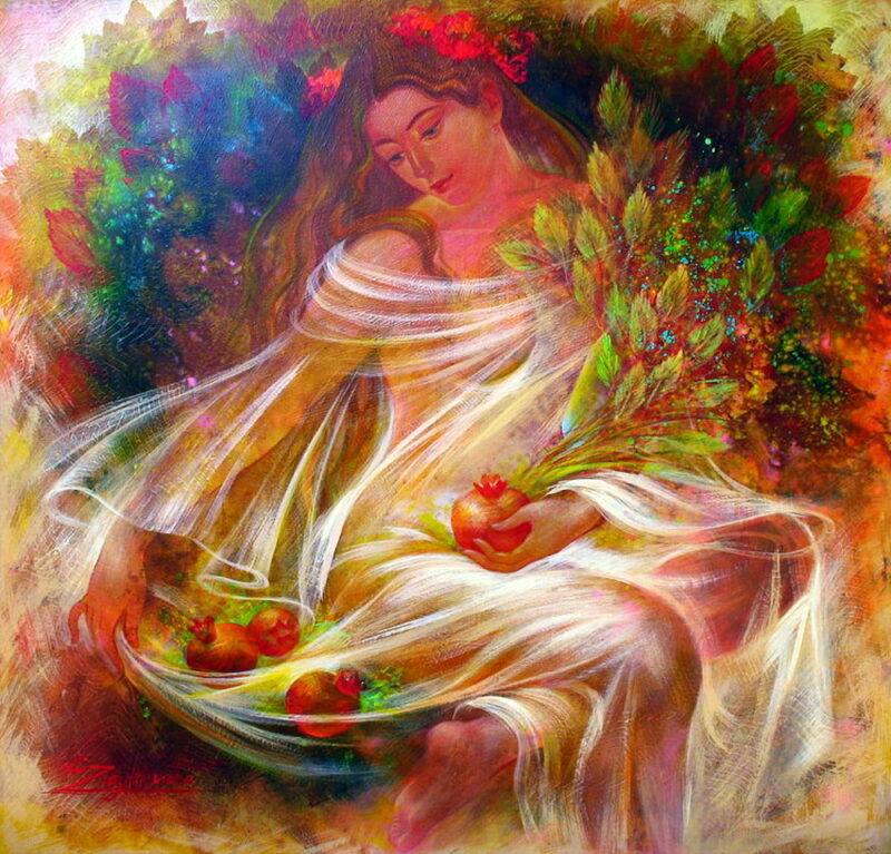 Элен Зелин– удивительная художница.
