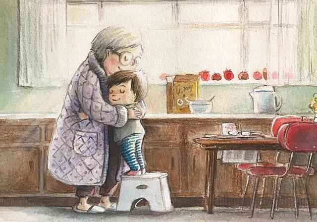 Бабушка. Рассказ Олега Букача