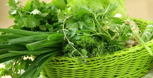 Зелень для здоровья