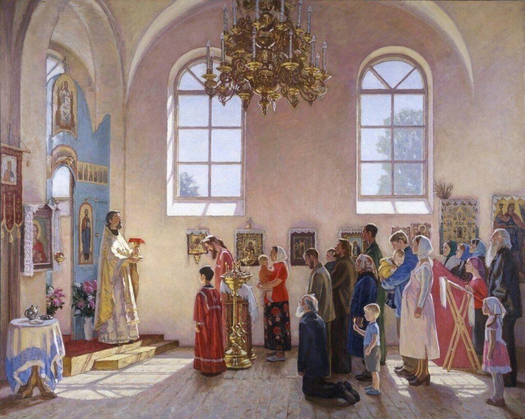 Как отмечали Пасху на Руси