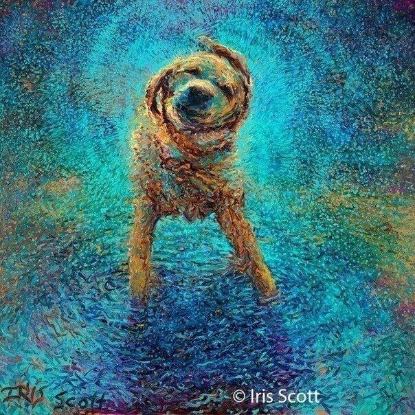 Нью-йоркская художница Айрис Скотт