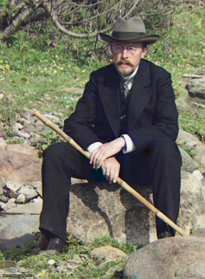Пионер цветной фотографии в России Сергей Прокудин-Горский