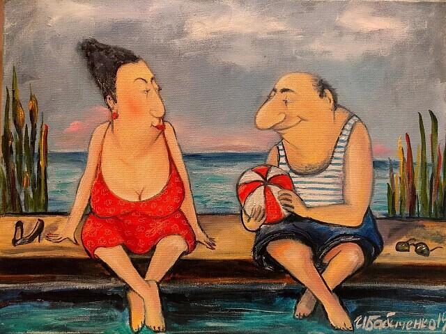 Наблюдения на испанском пляже. Рассказ Татьяны Н.Толстой