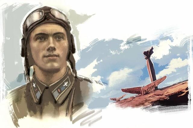 Капитан Гастелло. Рассказ Сергея Алексеева