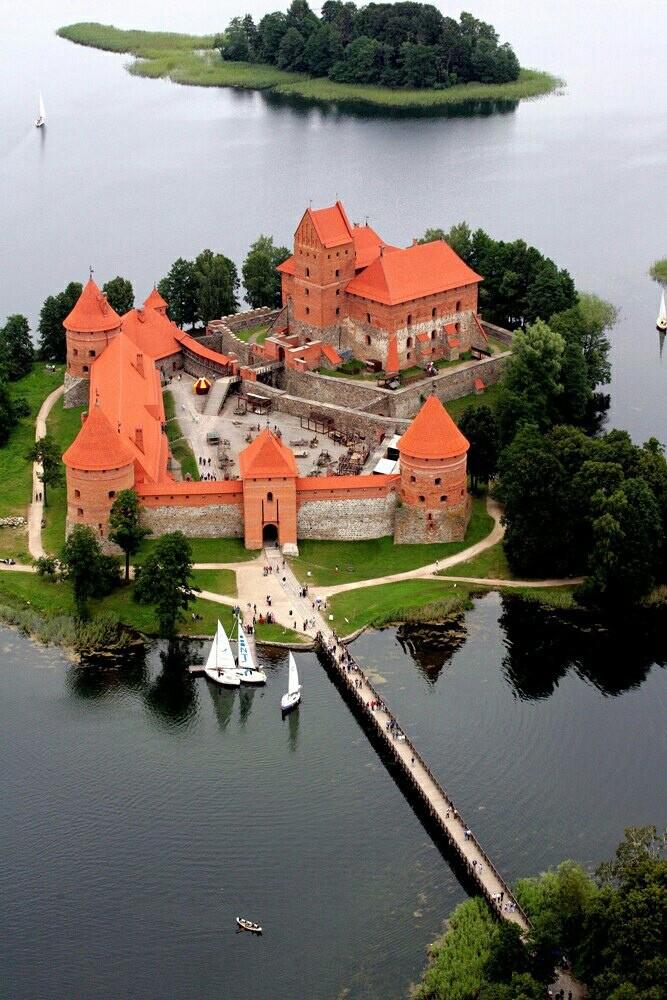 Литва. Тракайский замок
