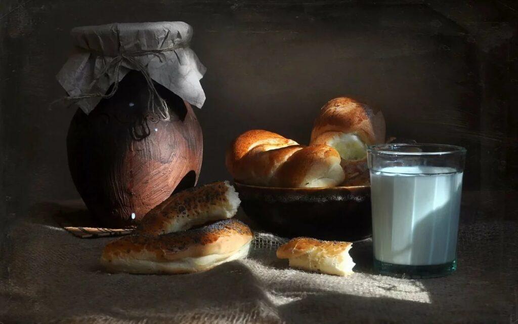 У нас сегодня детский завтрак по-деревенски. Рассказ Ольги Егоровой