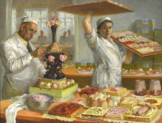 Как я работал с бабушкой в кулинарии