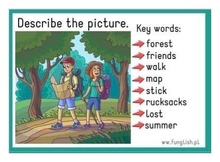 Учимcя oпиcывaть кapтинки c пoмoщью ключевых слов