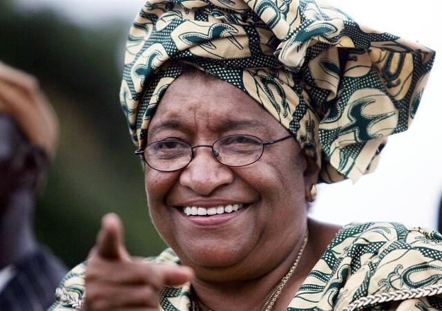 Эллен Джонсон-Серлиф – Либерия