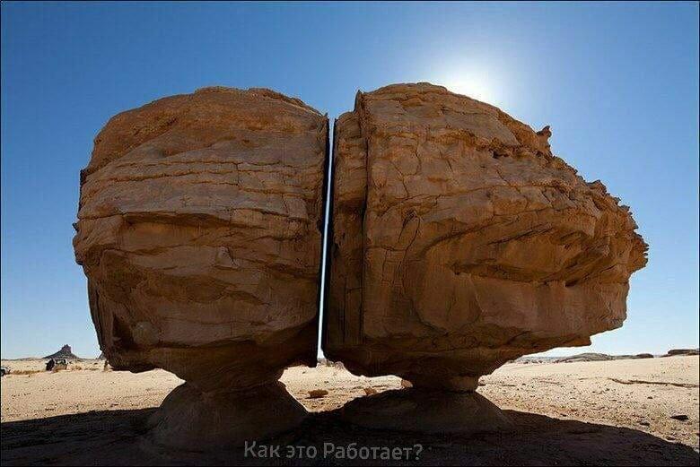 """Одна из 130 """"гробниц"""" Мадаин-Салих. Саудовская Аравия"""