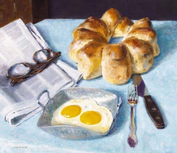 А вы любите кушать с утра яичницу