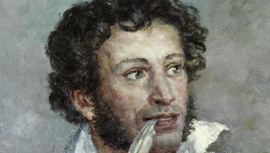 Александр Пушкин. Я памятник себе воздвиг нерукотворный