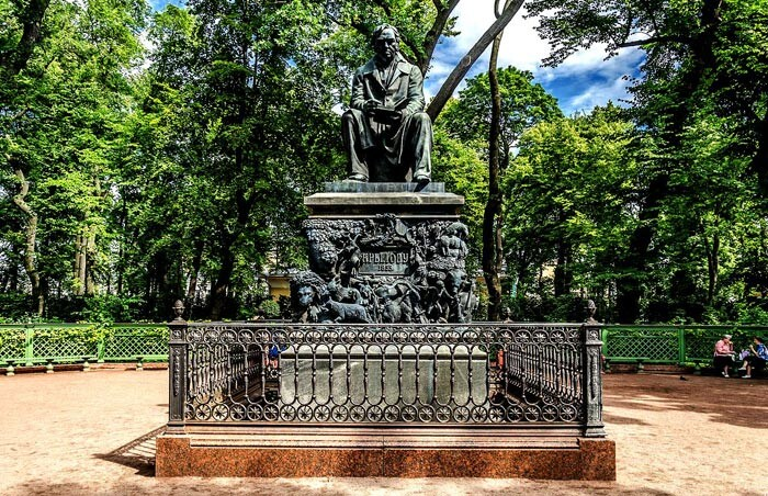Летний Сад... Санкт-Петербург