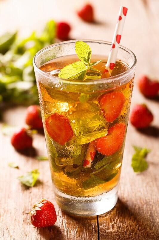 Летние рецепты холодного чая