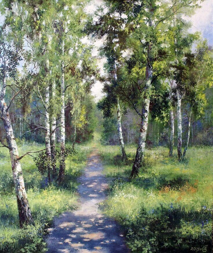Живопись художника Сергея Дорофеева