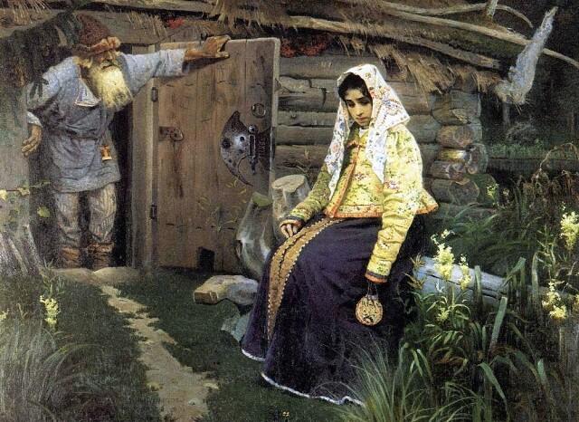 Михаил Нестеров «За приворотным зельем», 1888 год