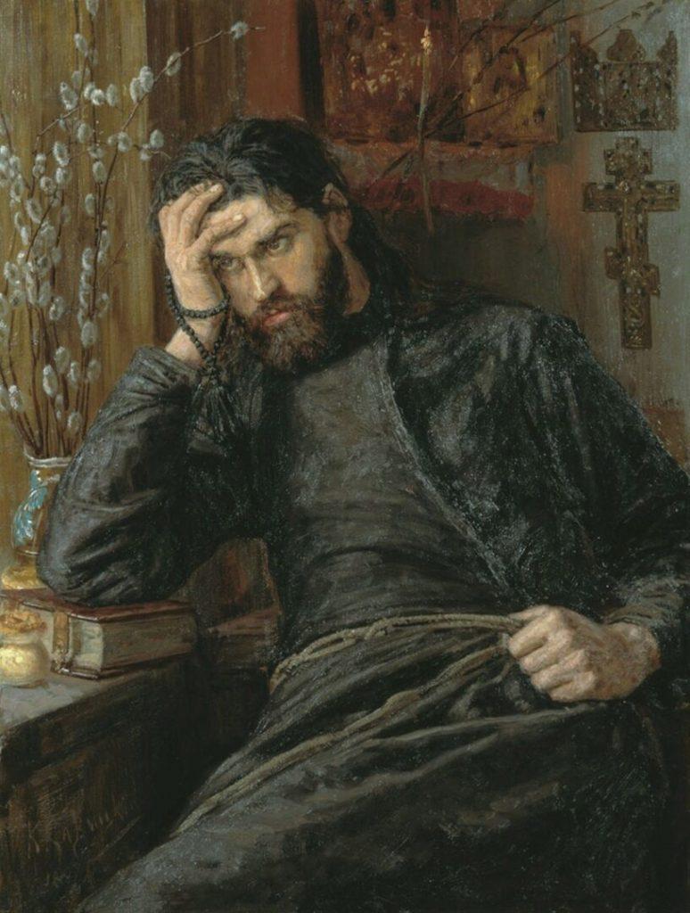 Константин Аполлонович Савицкий «Инок», 1897 год