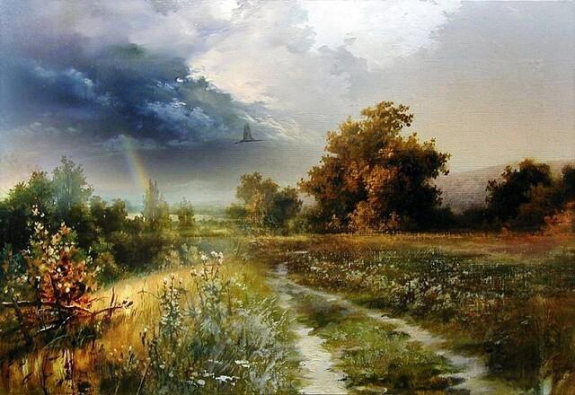 Живопись художника Виктора Юшкевича
