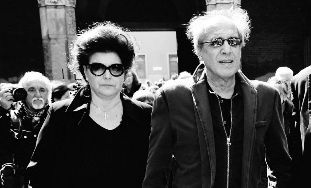 Адриано Челентано и Клаудиа Мори
