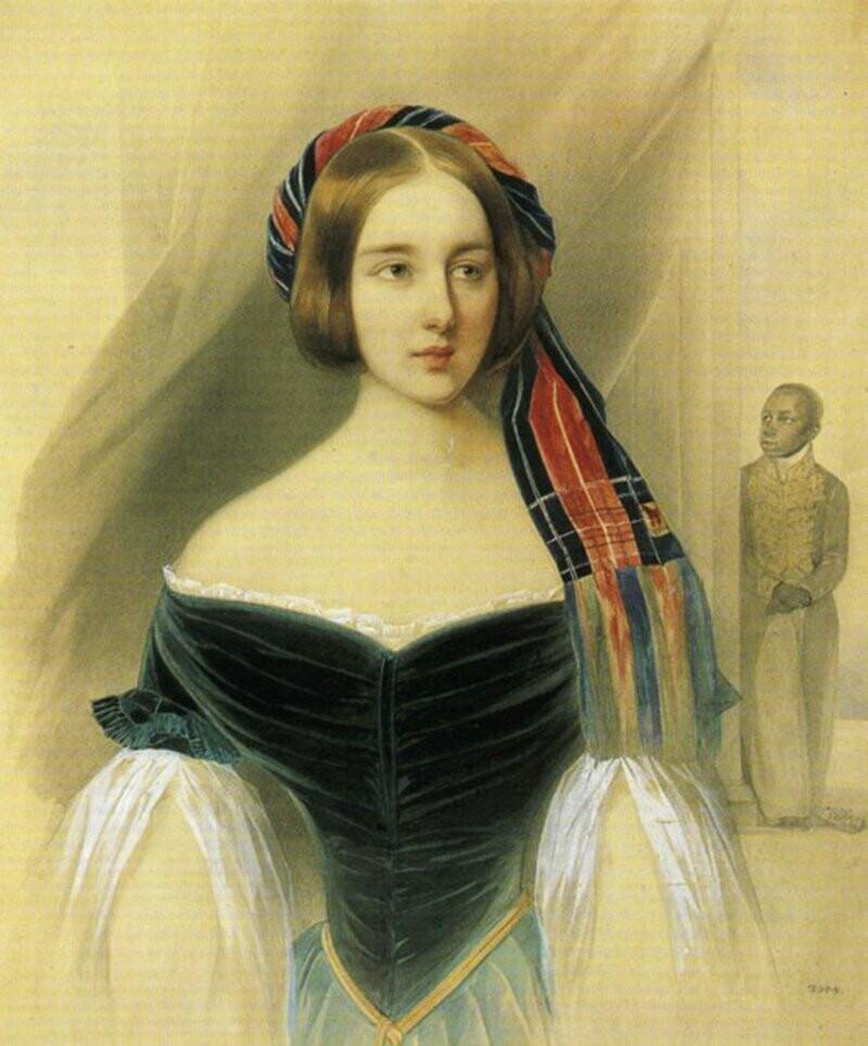 Наталия Николаевна  Гончарова - Пушкина - Ланская