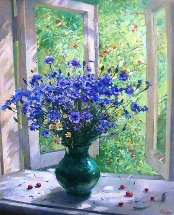 У каждого в душе цветут свои цветы...