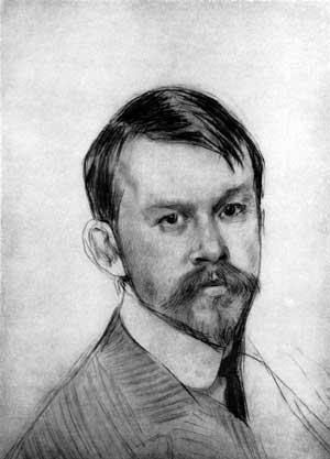 Борис Кустодиев. Голубой домик