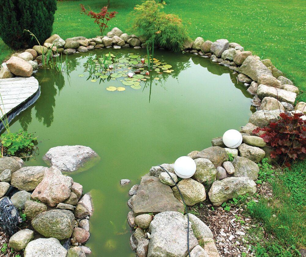 Идеи для тех, кто делает на участке декоративный пруд