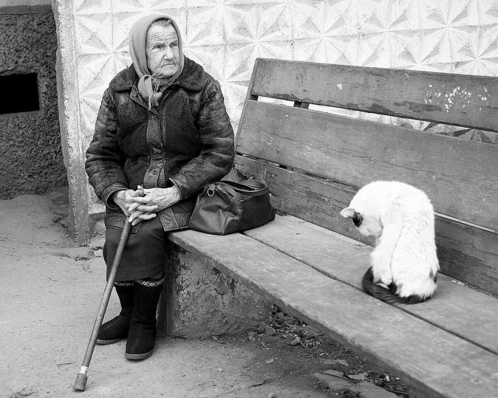 Баба Клава и Ниточка. Рассказ Татьяны Пахоменко