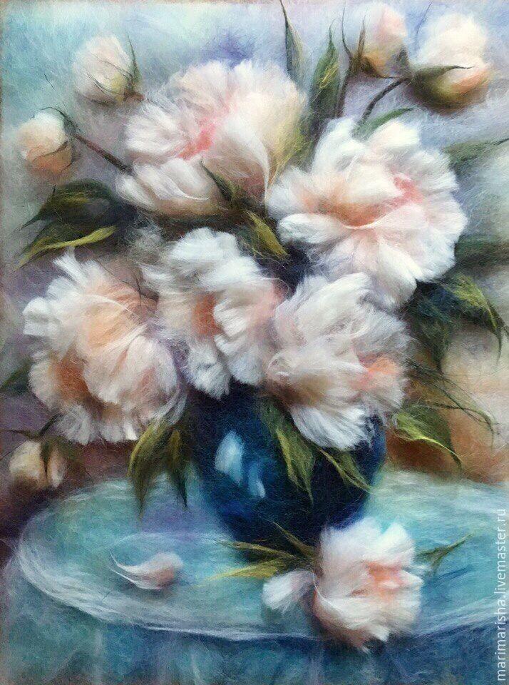 Шерстяная акварель от Марины Аскеровой