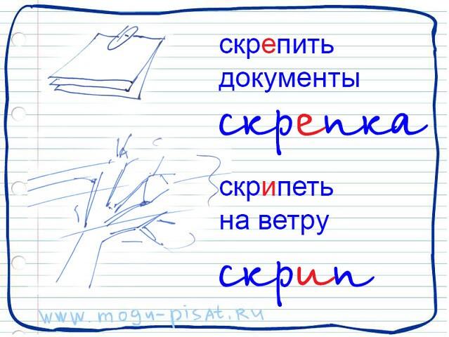 Запомним грамотное написание слов