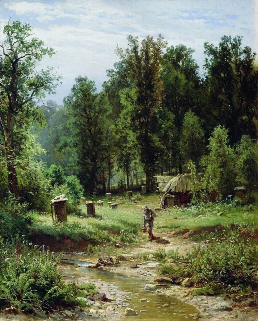 Художник Иван Иванович Шишкин (1832 - 1898). Русская природа