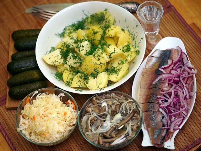 Рецепты блюд из картофеля