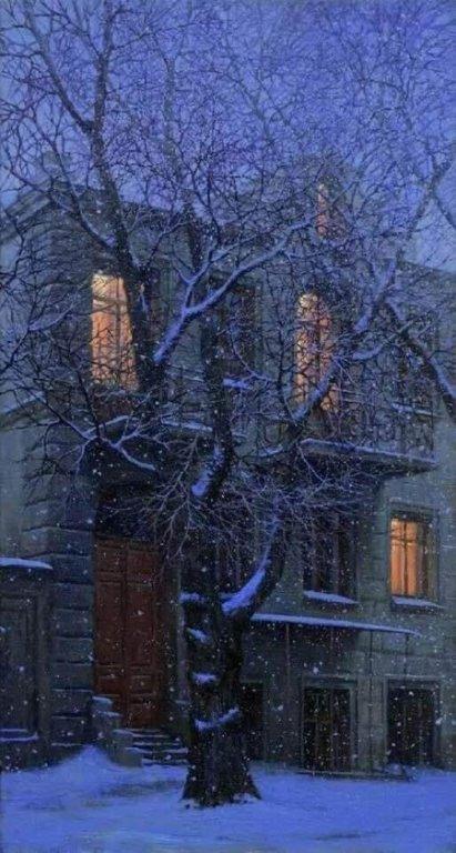 Александр Блок. Зимний вечер
