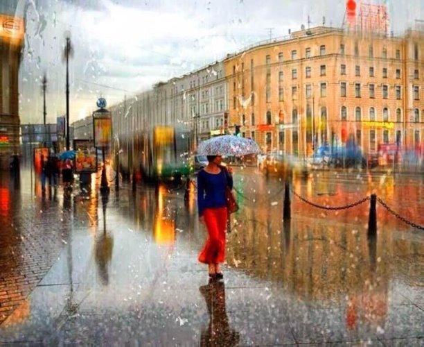 Белла Ахмадулина. Сказка о дожде