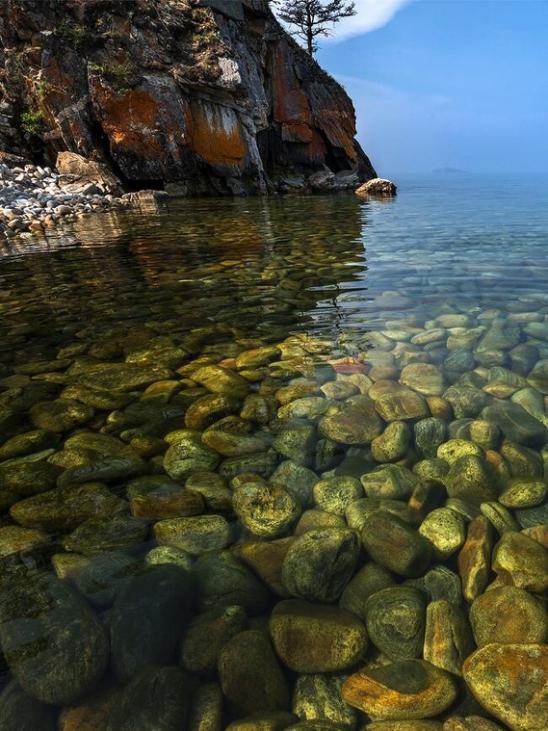 Озеро Байкал – жемчужина России
