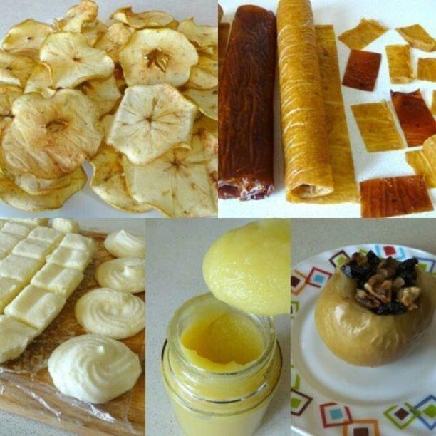 Заготовки и вкусняшки из яблок